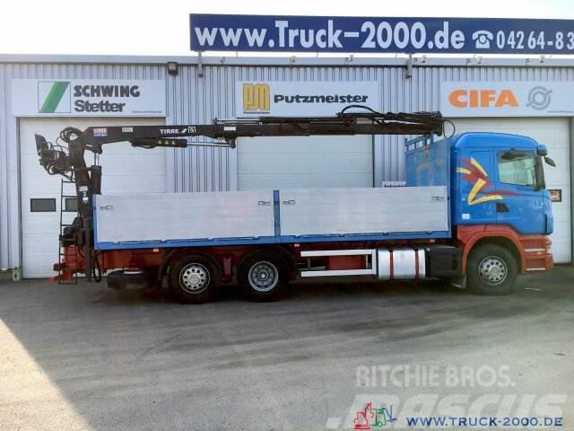 Scania R400 Tirre Euro 191L 9m=1,7t. 7m Ladefl. 1.Hand