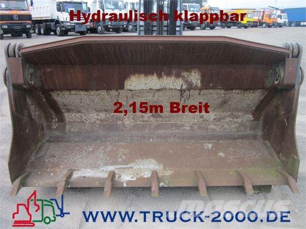 Schaeff Hydraulisch Klappbare Schaufel 2,15m breit