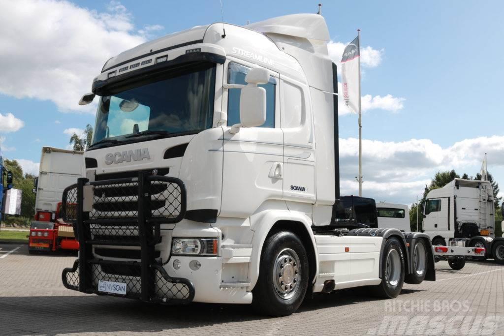 Scania R490 6x2 Highline Hydraulik