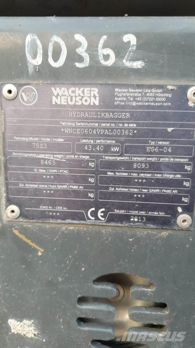 Wacker Neuson 75Z-3