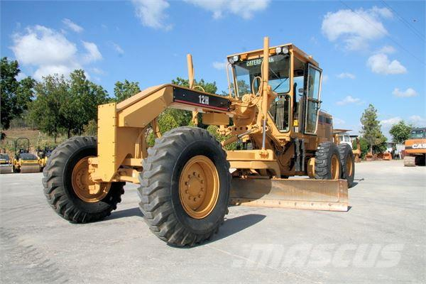 Used caterpillar 12h motor graders year 1996 for sale for Cat 12 motor grader for sale
