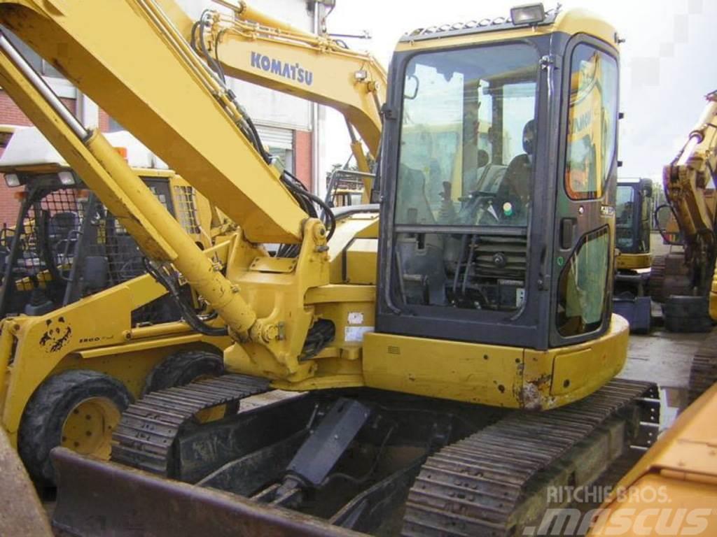 Used Komatsu -pc88mr-6 mini excavators 7t - 12t Year: 2007 for sale