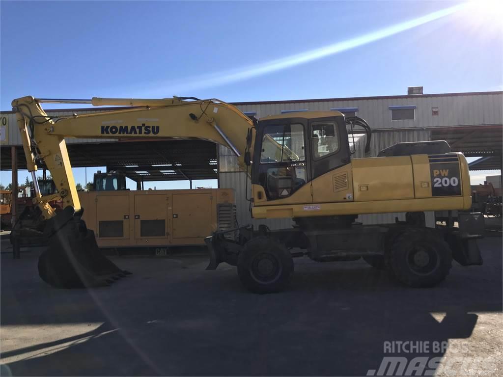 Komatsu PW200-7