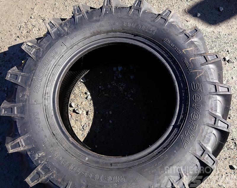 Alliance 380/70R24 -nya däck-