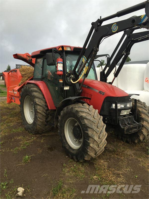 Used Case IH JXU 105 TRAKTOR tractors Year: 2008 Price: $37,775 for sale - Mascus USA