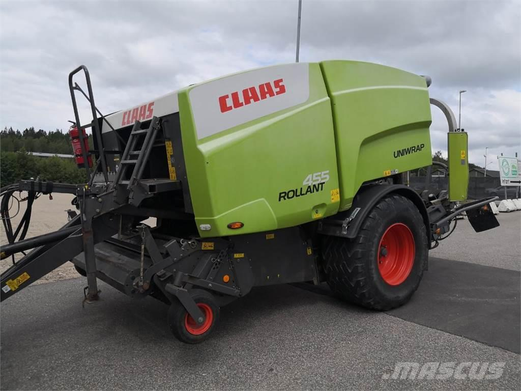 CLAAS 455RC INPLASTARPRESS