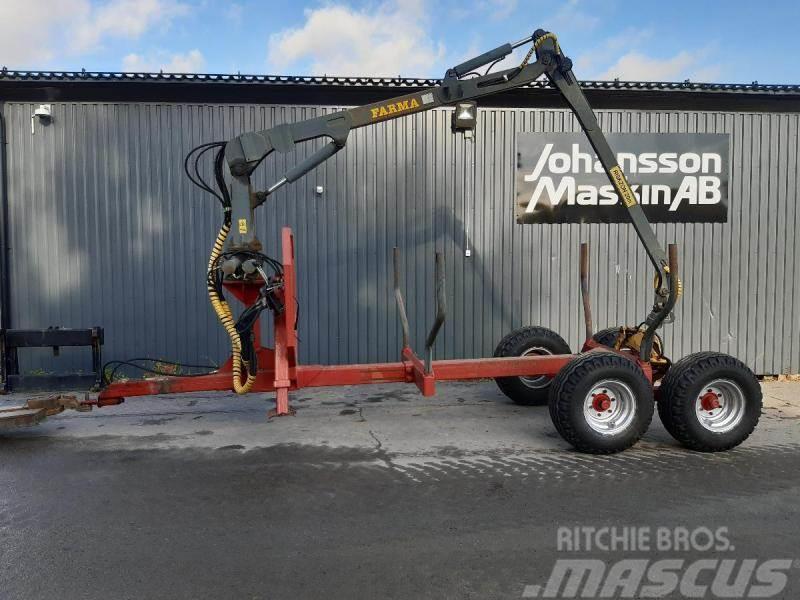 Farma 852 Skogvagn Boggi 8,5 Ton