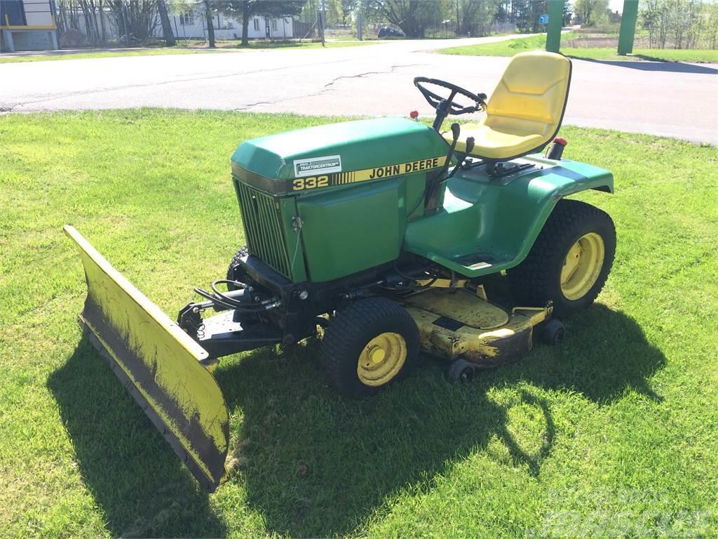 John Deere 332 >> Used John Deere 332 Other Groundcare Machines Year 1992 Price Us