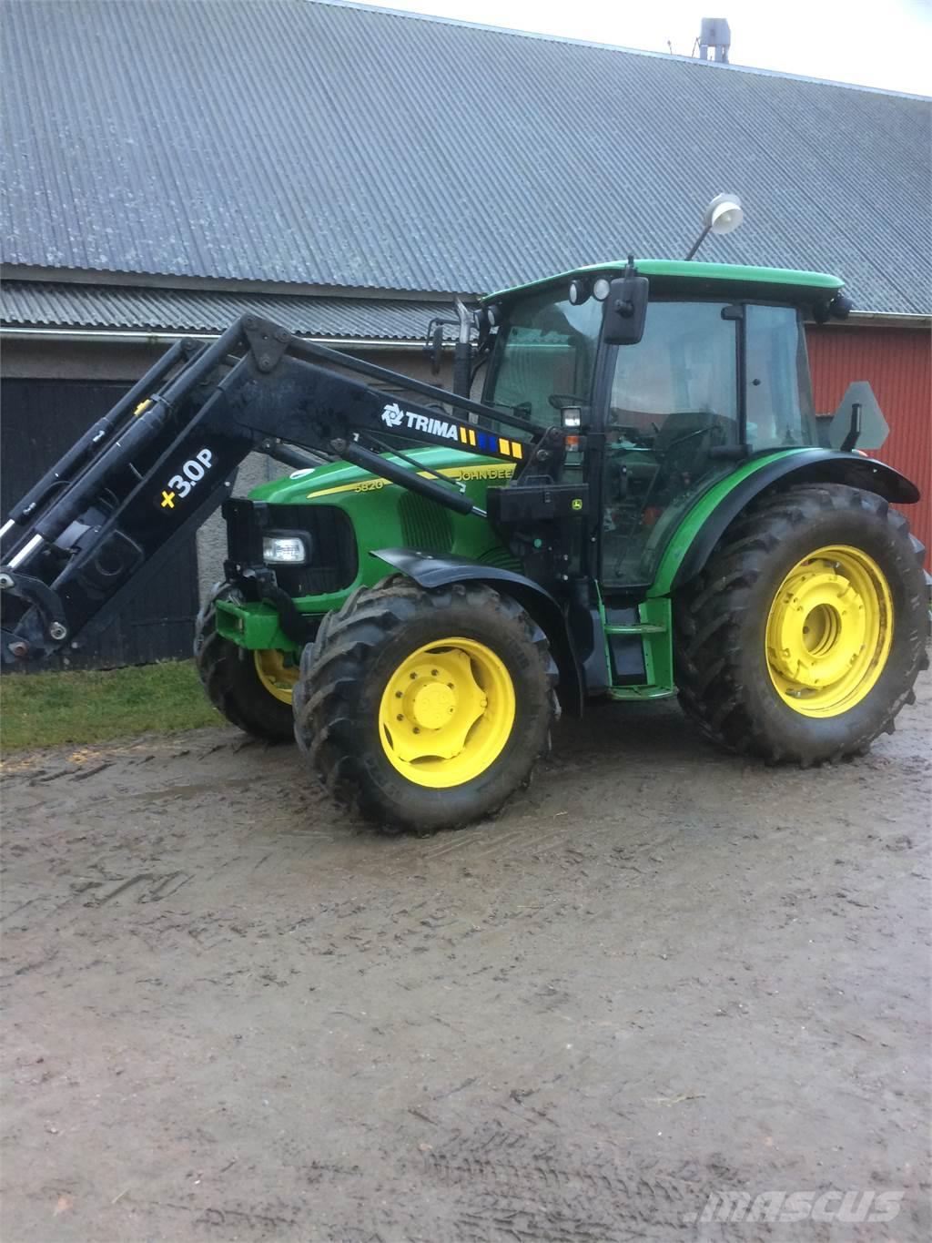 used john deere 5820pq traktor tractors year 2008 price. Black Bedroom Furniture Sets. Home Design Ideas