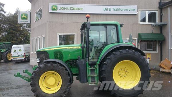 john deere 6820 occasion prix 33 501 ann e d 39 immatriculation 2005 tracteur john deere. Black Bedroom Furniture Sets. Home Design Ideas