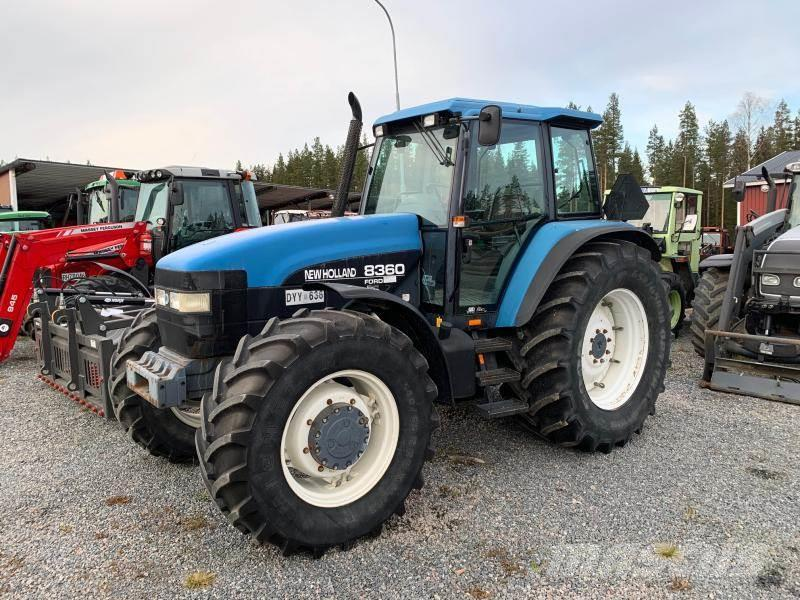 New Holland 8360 4WD