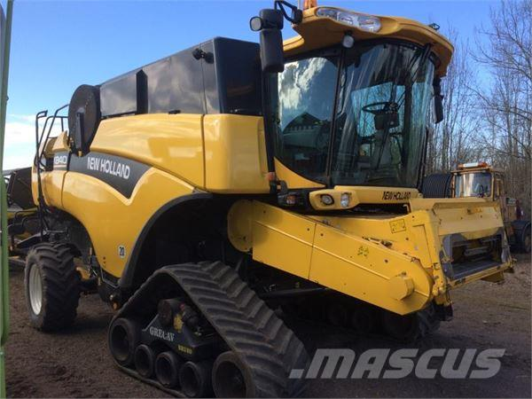 New Holland CX840 med Biso Crop ranger21ft