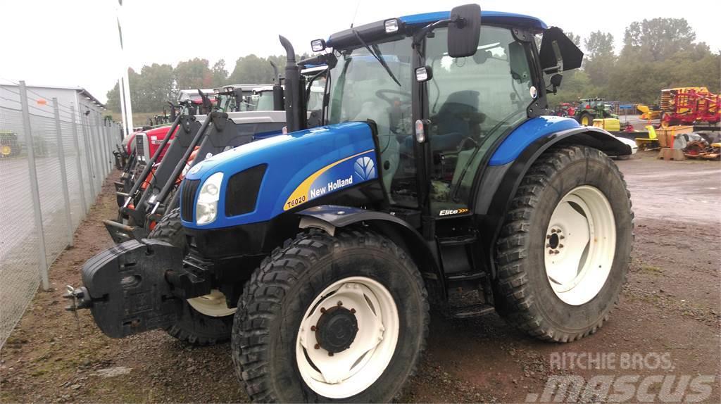 used new holland t6020 elite traktor tractors year 2009. Black Bedroom Furniture Sets. Home Design Ideas