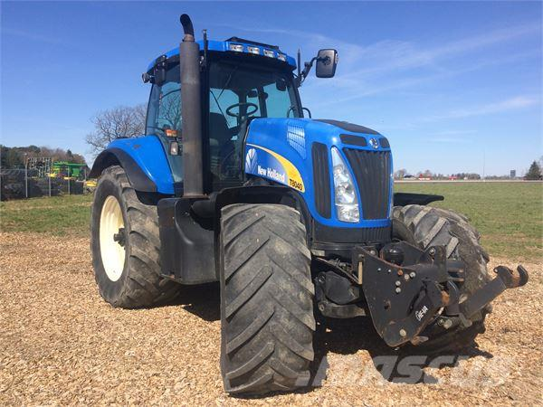 used new holland t8040 traktor tractors year 2007 price. Black Bedroom Furniture Sets. Home Design Ideas