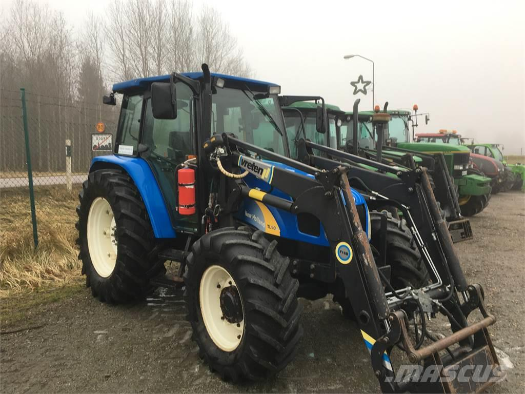 used new holland tl90a traktor tractors year 2007 price. Black Bedroom Furniture Sets. Home Design Ideas