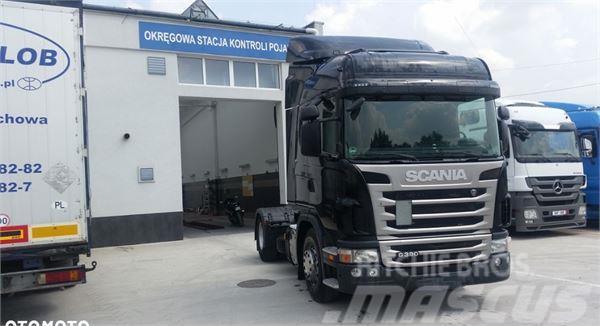 Scania G 380 420 ciągnik siodłowy 2012 mały przebieg