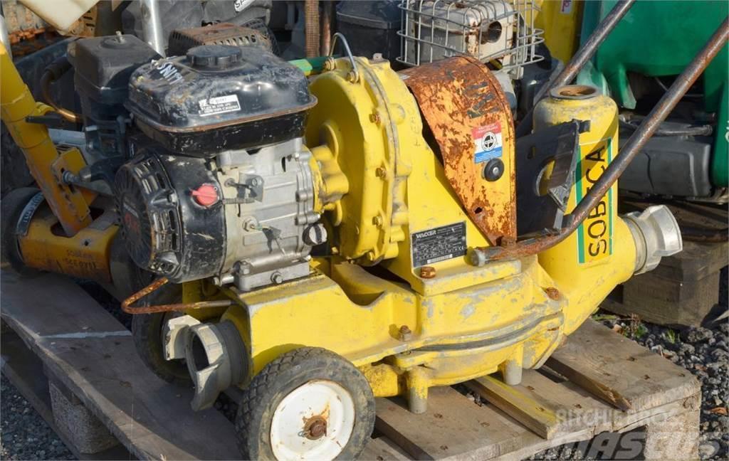 Wacker Neuson Pompa Brudnej wody WACKER PDI3A 333 l/min Silnik H