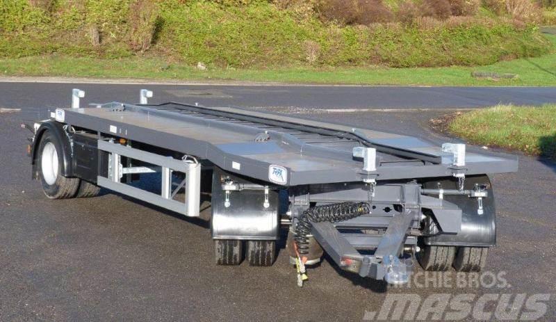 Trax Remorque PORTE CAISSONS pistes larges