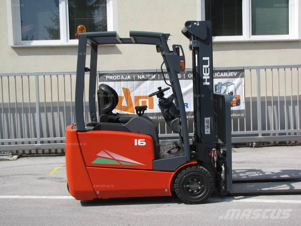 Used Heli EFG216kn electric forklift trucks Year: 2018 for