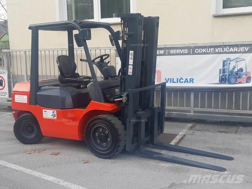 Used Toyota D-02-7FD30 diesel Forklifts Year: 2006 for sale