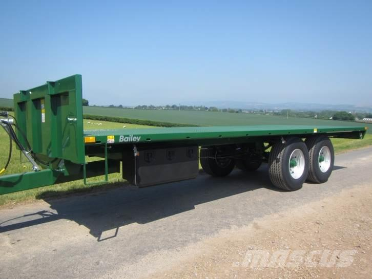 Bailey 10 Ton flat trailer