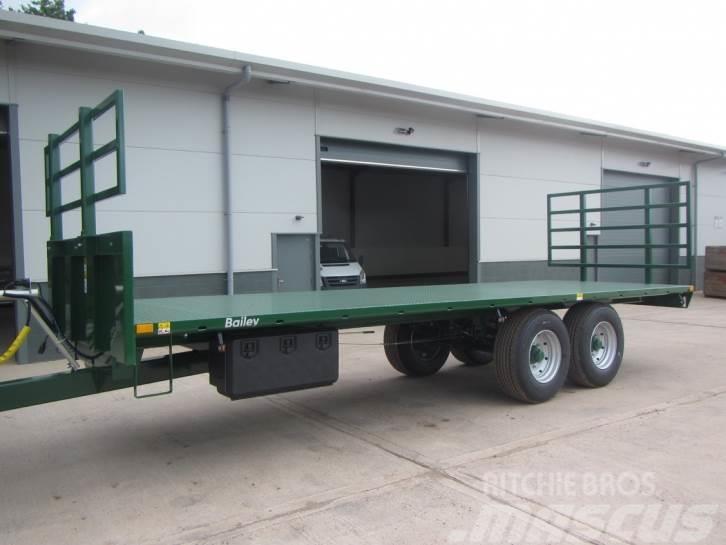 Bailey 10 Ton flat trailer