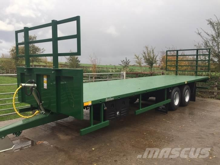 Bailey 12 Ton 30ft flatbed trailer