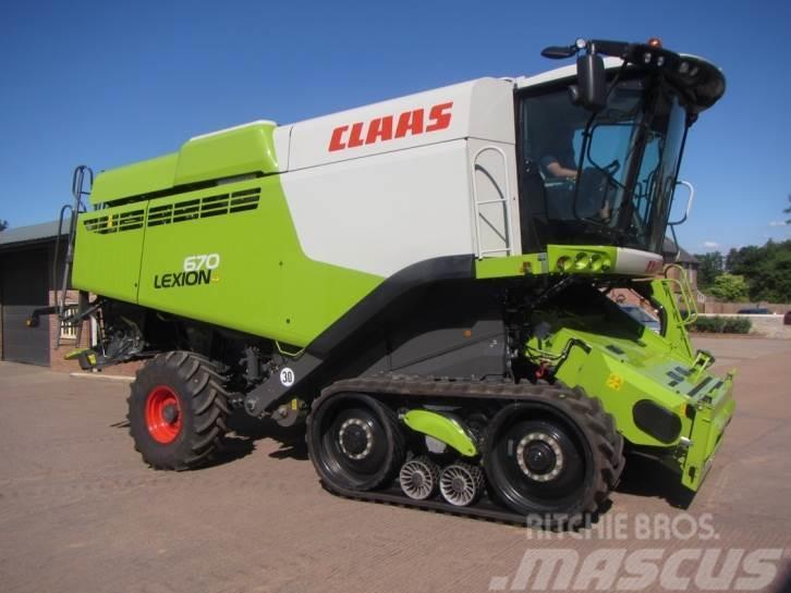 CLAAS Lexion 670TT