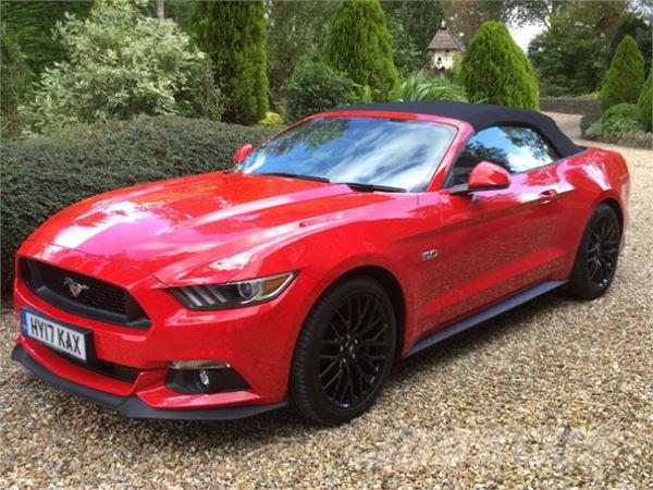 used ford mustang gt convertible 5 0 litre v8 cars year 2017 for sale mascus usa. Black Bedroom Furniture Sets. Home Design Ideas