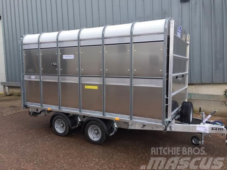 Ifor Williams DP120 12ft livestock trailer