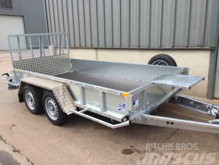 Ifor Williams GP 126 plant trailer