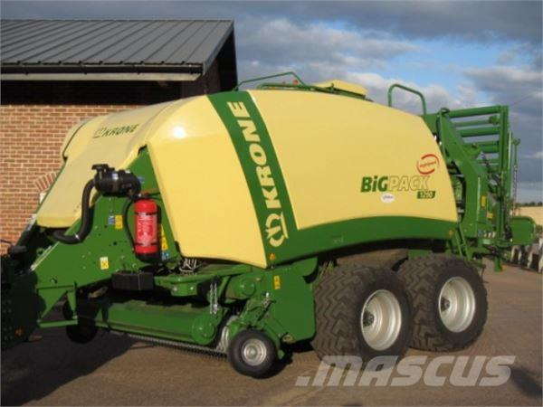 Krone Big Pack 1290 High Speed baler