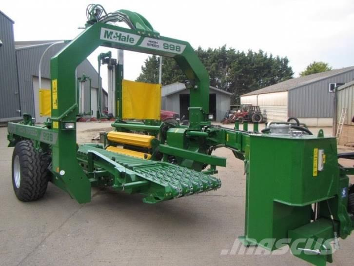 McHale 998 High Speed bale wrapper