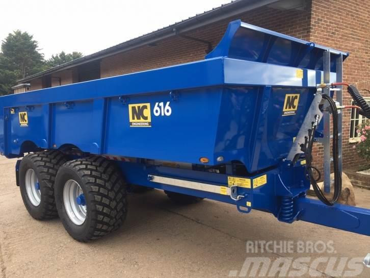 NC 616 16 Ton dump trailer