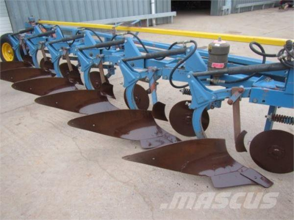 Överum 6 furrow conventional semi mounted plough