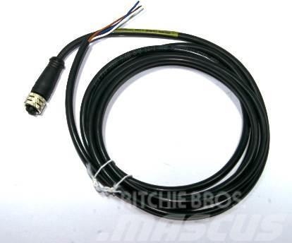 John Deere F062308 Sensor cable M12 straight 3m, sawsensor