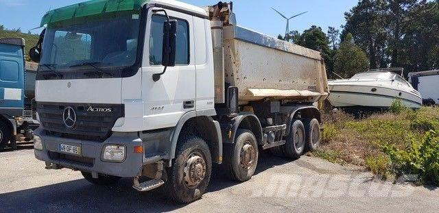 Mercedes-Benz Actros 4144 8x6 Kipper