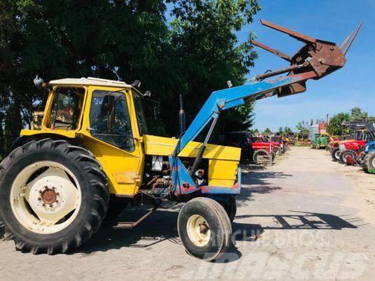 Valmet 703 with front loader