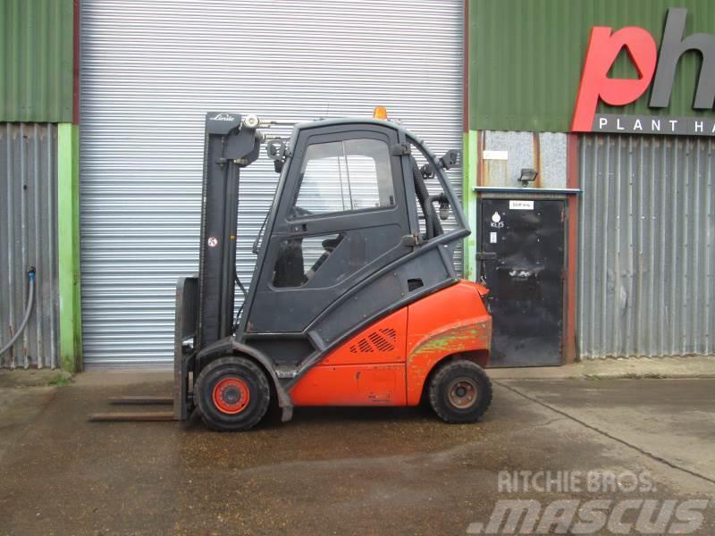 Linde H30D-01 393 HIGH CAB