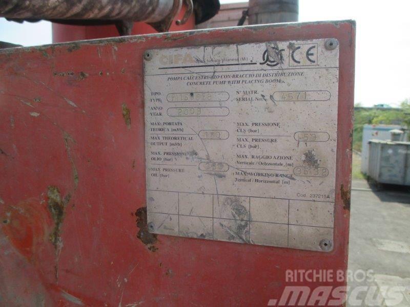 Iveco EUROTRAKKER 410E42 POMPA CIFA K3 XL 36 BM184EY