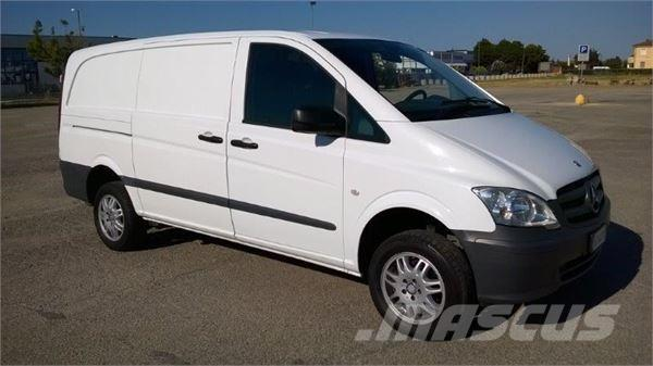 mercedes benz vito 116 furgone long 4x4 occasion ann e d 39 immatriculation 2011 utilitaire. Black Bedroom Furniture Sets. Home Design Ideas