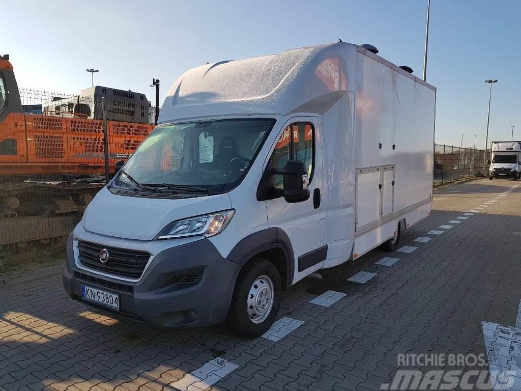 Fiat Ducato Maxi MJ L3 Euro 5 - zabudowa sklep/bar z wy