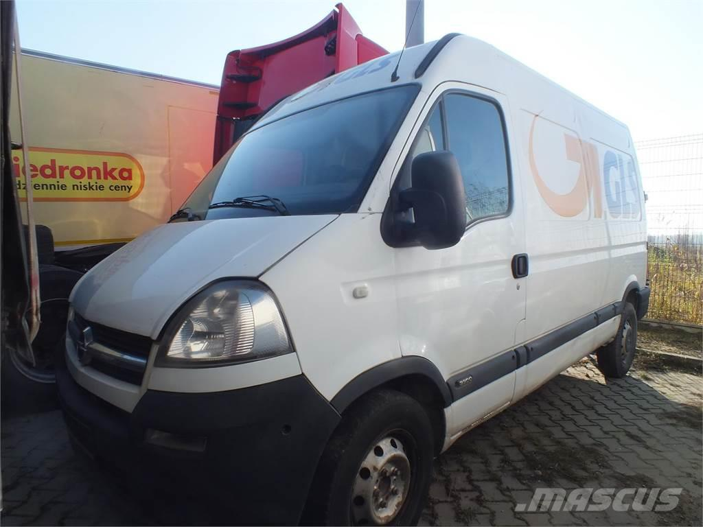 Opel Movano CDTI Euro 4 2463ccm - 100KM 3,3t 06-10