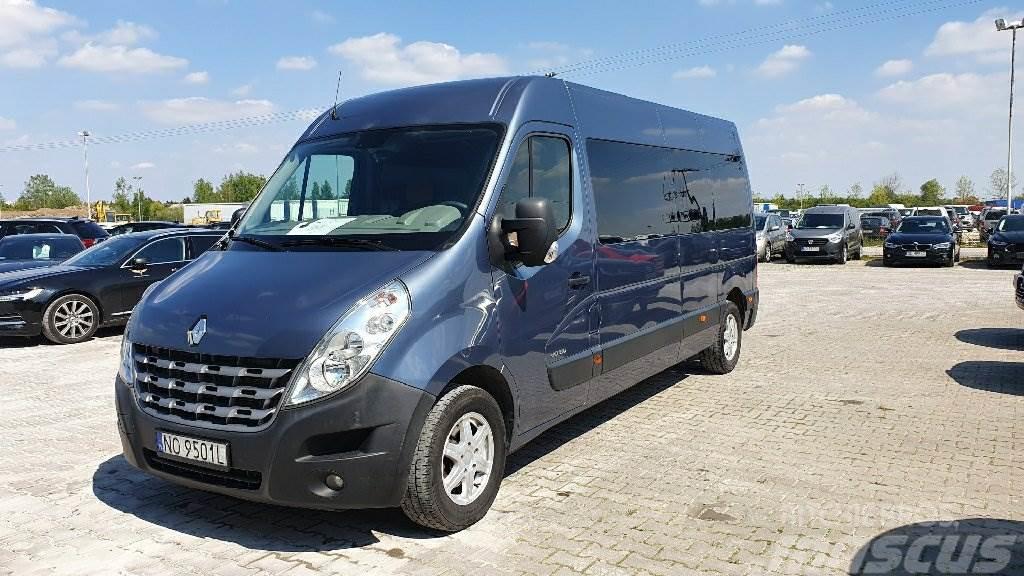 Renault Master dCi 150 Euro 4 2298ccm - 145KM 3,5t 10-12
