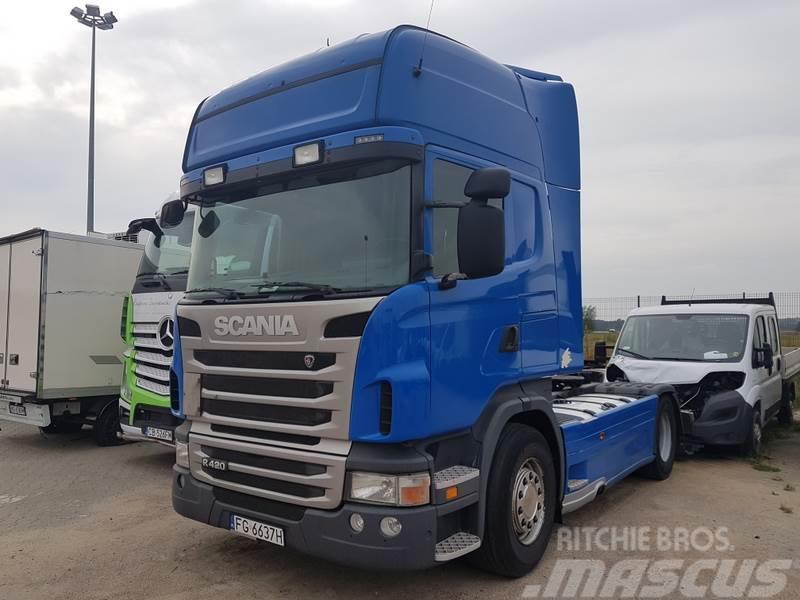 Scania R420 LA 4x2 MNA/HNA Topline Euro 5