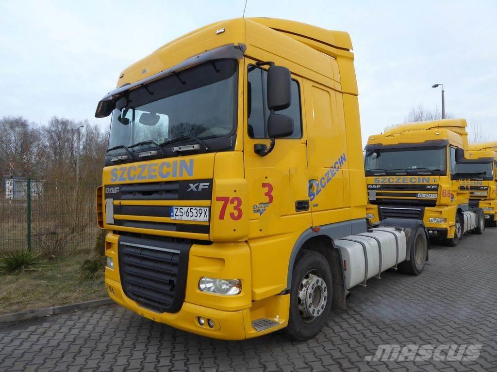 purchase daf xf 105 410 euro5 manual tractor units bid. Black Bedroom Furniture Sets. Home Design Ideas
