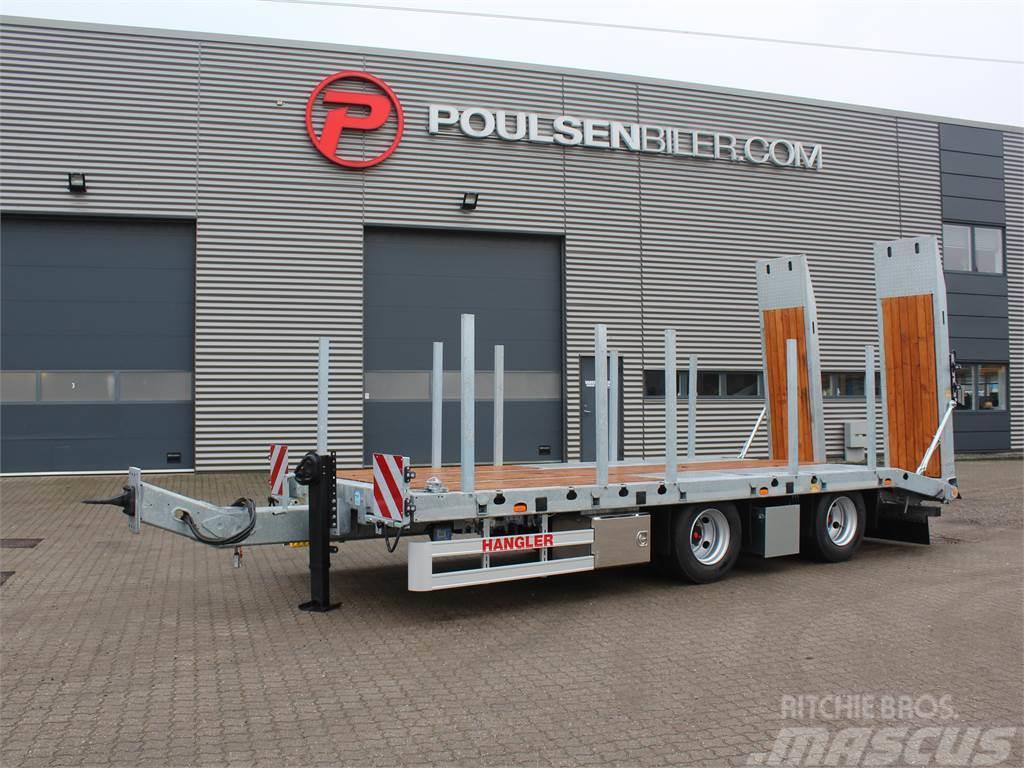 Hangler 2-aks 21-tons m. containerlåse