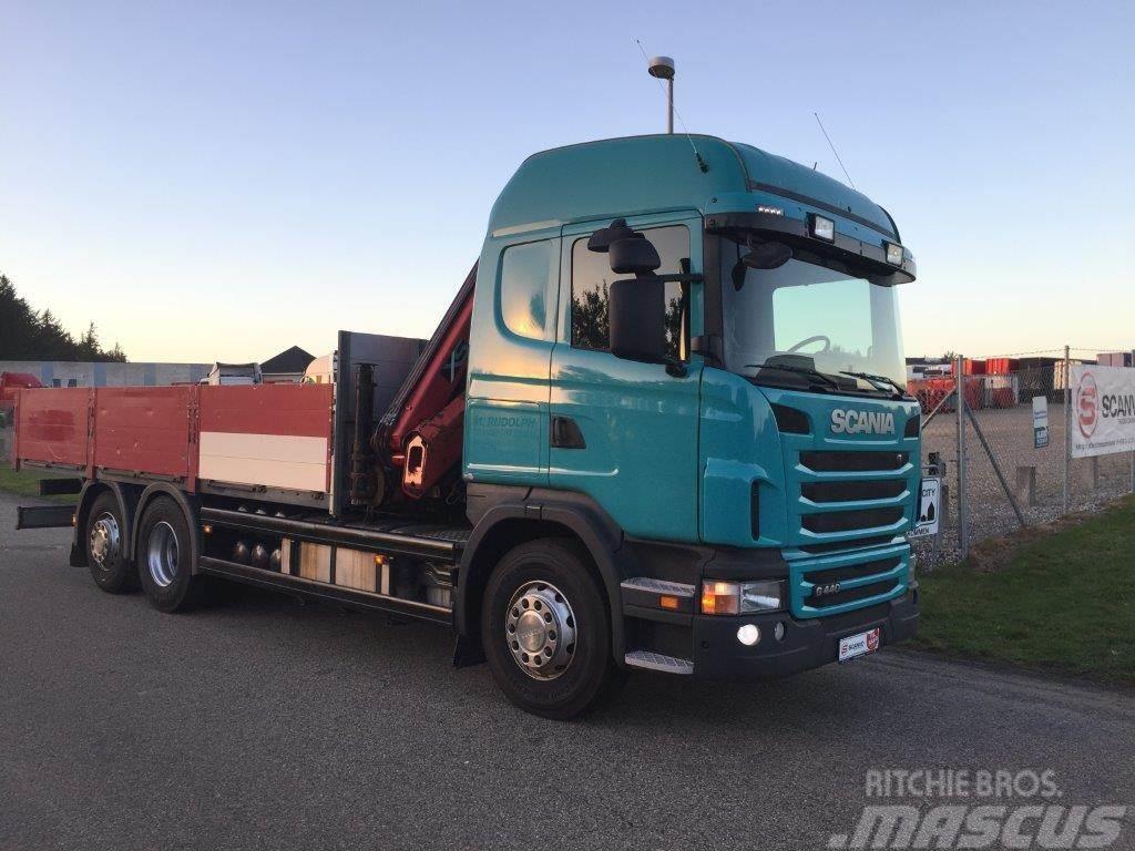 Scania G440 6x2 kran