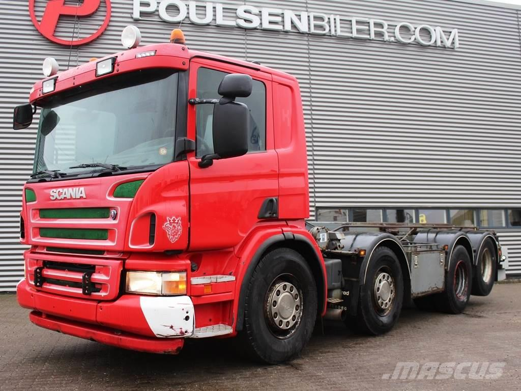 Scania P380 8x2 Wirehejs
