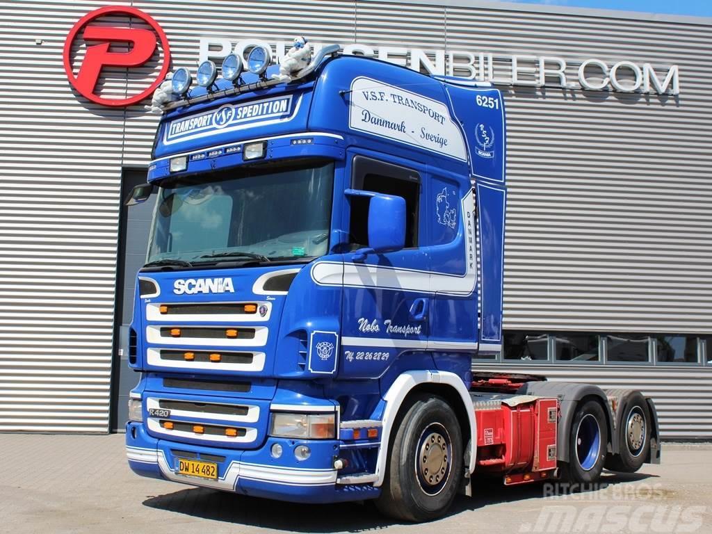 Scania R420 6x2 hydr.